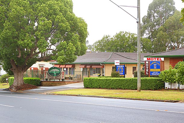 Motel accommodation in Ruthven St Toowoomba